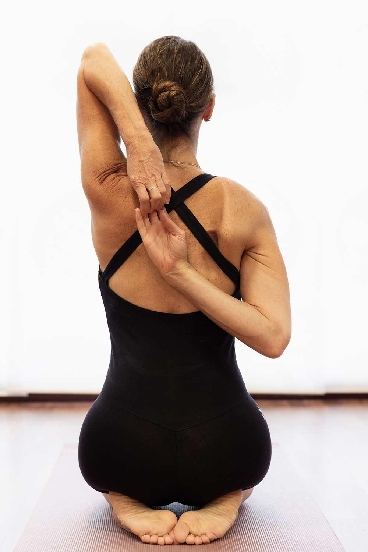Yin joga tadasana joga